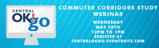 Webinar ACOG Central Oklahoma City of Oklahoma City Norman Edmond Midwest City Del City Transit Commuter Light Rail BRT Bus Rapid Transit Transit Oriented Development TOD Regional Transit Public Transportation Alignment Webinar Information Update