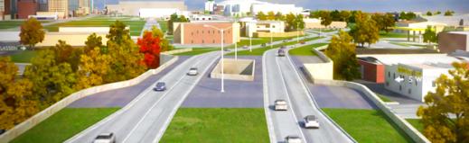Oklahoma City Oklahoma Department of Transportation OKC ODOT Congestion Highway Boulevard At-Grade Elevated Bad Ideas Urban Blight Transportation Planning Air Quality Multimodal Street Design