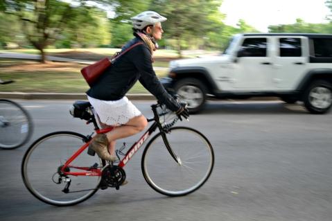 Bike To work laura massenat oklahoma city